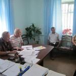 Заседание рабочей группы в Белосельском СП 31 мая 2012 года