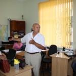 Стажёры из Армавира и сотрудники ЦГП РА в Майкопе
