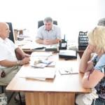 Стажёры из Армавира и Черненко В.И. в администрации Шовгеновского района