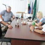 Стажёры из Армавира и Черненко В.И. в Дукмасове