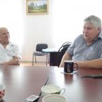 Черненко В.И. и глава Дукмасовского СП