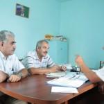 Стажёры из Армавира и сотрудники ЦГП РА в Белосельском