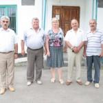 Стажёры из Армавира с Черненко В.И. и сотрудниками администрации Белосельского СП