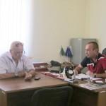 Рабочая встреча по ЖКХ в Понежукайском сельском поселении 2 августа 2012